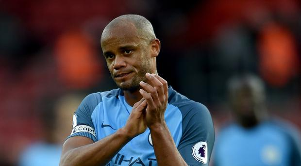 Vincent Kompany inspired Manchester City to victory at Southampton