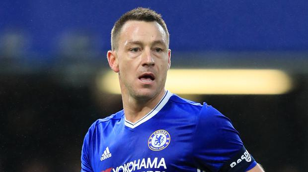 John Terry on his way out of Chelsea