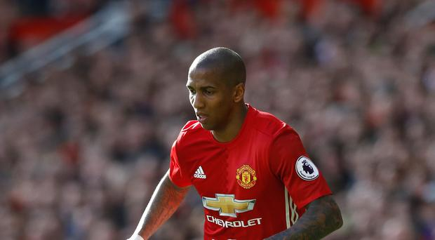 Ashley Young is focused on his Manchester United career