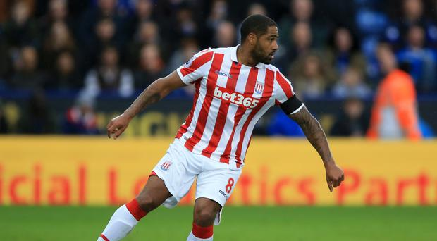 Glen Johnson has extended his stay at Stoke
