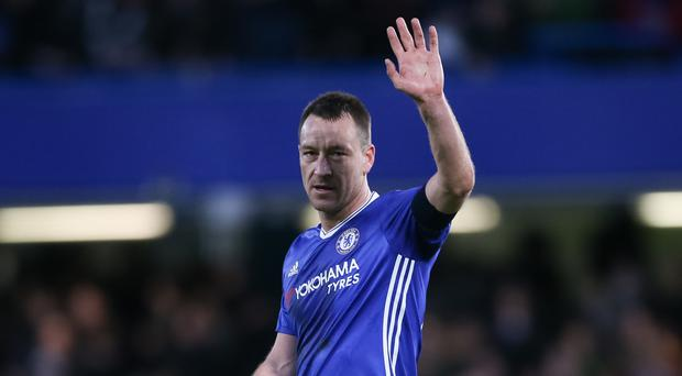 John Terry will bid farewell to Chelsea at the end of the season