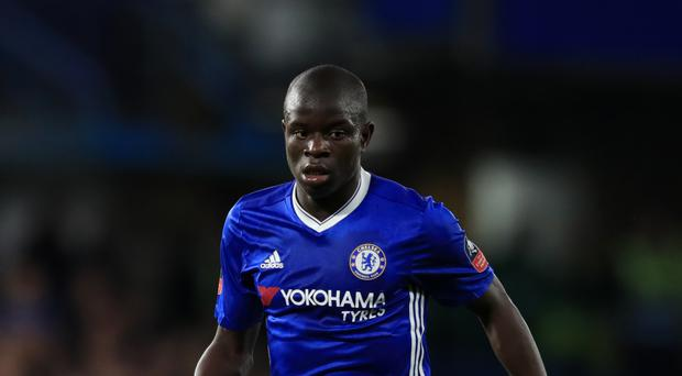 N'Golo Kante is one of four Chelsea players in the PFA Team of the Year