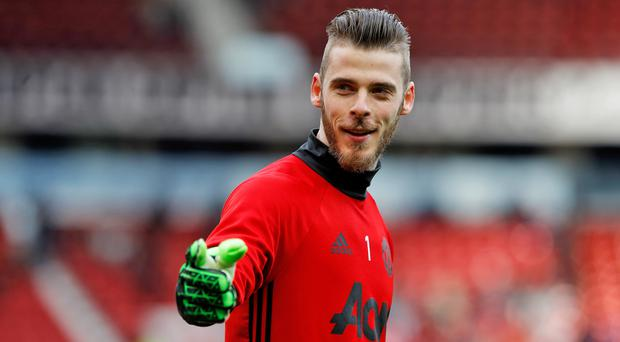 David De Gea adds to Manchester United's Premier League-leading tally