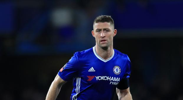 Gary Cahill has been in hospital, according to reports