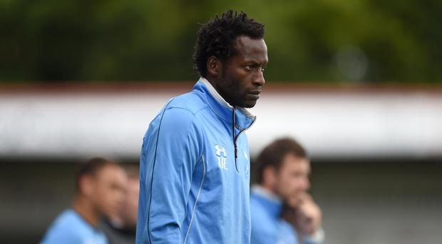 Former England defender Ugo Ehiogu had started a coaching career at Tottenham