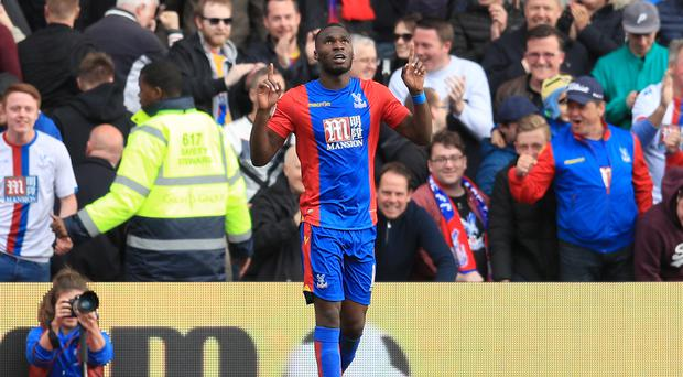 Crystal Palace's Christian Benteke will return to Anfield against Liverpool on Sunday