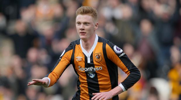 Sam Clucas' stunning volley secured a 2-0 win for 10-man Hull over Watford.