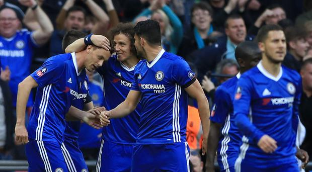 Chelsea are bidding to win the double after reaching the FA Cup final