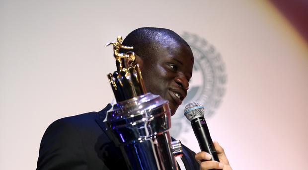 PFA players' player of the year N'Golo Kante has excelled for Chelsea and Leicester.