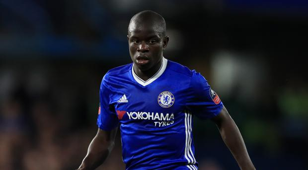 Chelsea's N'Golo Kante has been voted the PFA's player of the year
