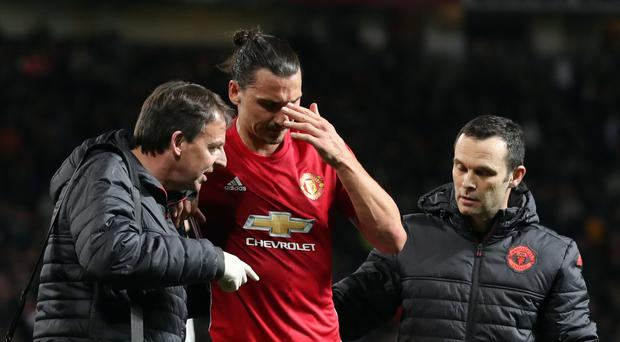 Zlatan Ibrahimovic will try to recover from ligament damage at the age of 35