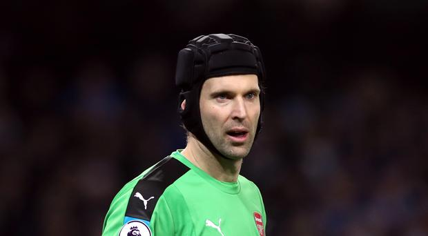 Petr Cech's Arsenal beat Manchester City 2-1 after extra-time on Sunday.
