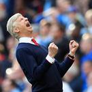 Arsene Wenger guided Arsenal to the FA Cup final on Sunday