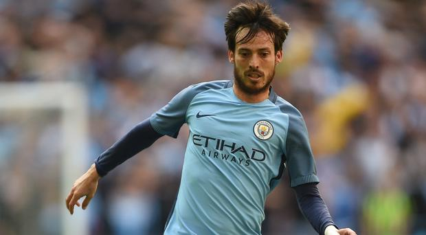 David Silva is struggling to be fit for the Manchester derby