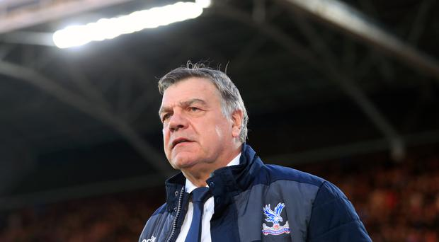 Crystal Palace manager Sam Allardyce wants his players to secure their Premier League safety with a win against Bunrley