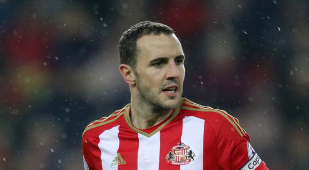 John O'Shea (pictured) admits Sunderland are in deep relegation trouble