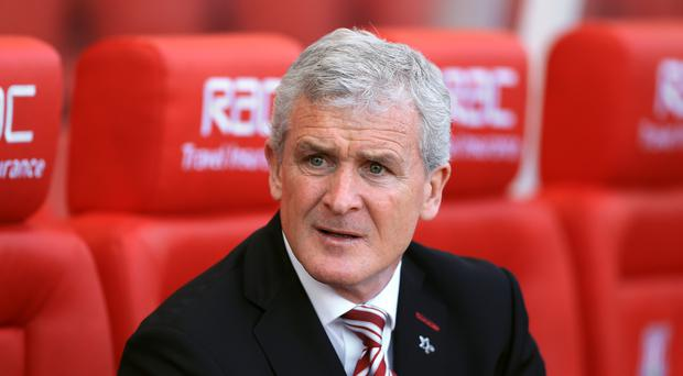 Mark Hughes believes expectations have been raised since he arrived at Stoke