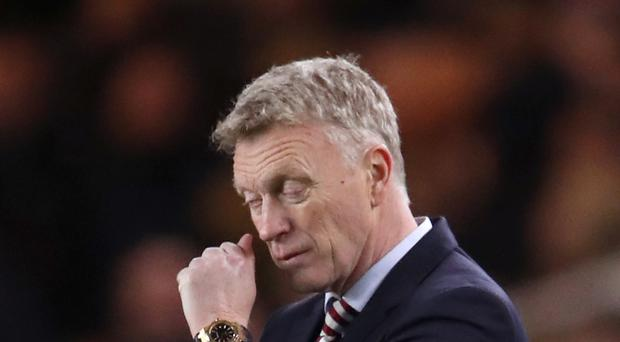 David Moyes is hurting as he attempts to drag Sunderland out of relegation trouble