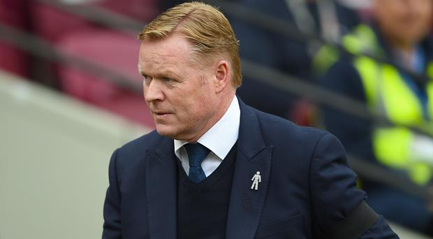 Everton boss Ronald Koeman can do title-chasing Tottenham a favour this weekend