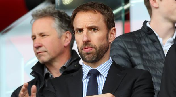 Gareth Southgate, pictured, watched Jack Butland keep a clean sheet