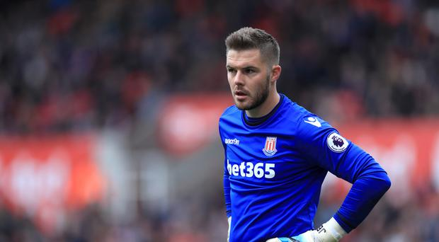 Jack Butland, pictured, impressed in front of Gareth Southgate