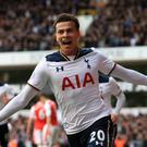 Dele Alli set Tottenham on their way to victory over Arsenal