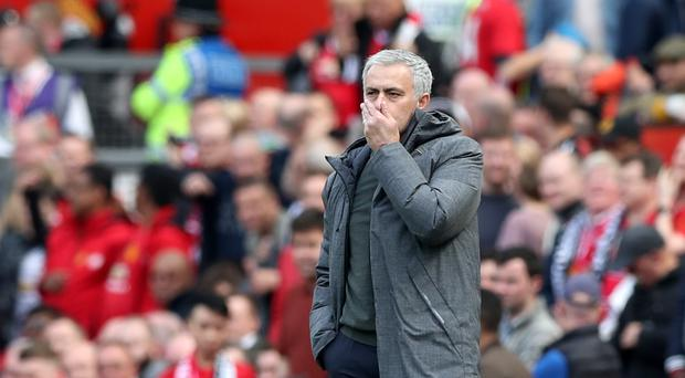 Jose Mourinho is pondering sending out Manchester United's under-23 side at the end of the season
