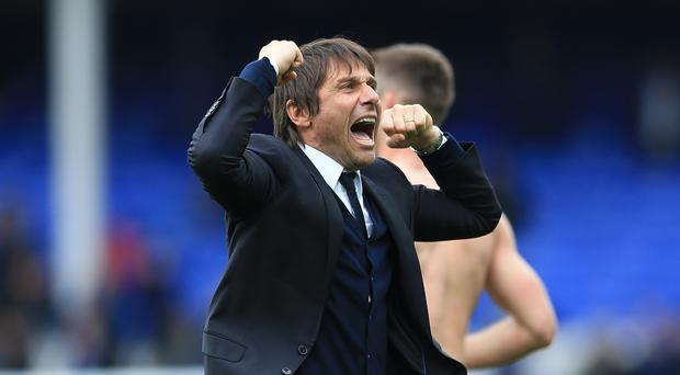 Chelsea manager Antonio Conte hailed team spirit as being a key component in their run towards the title.