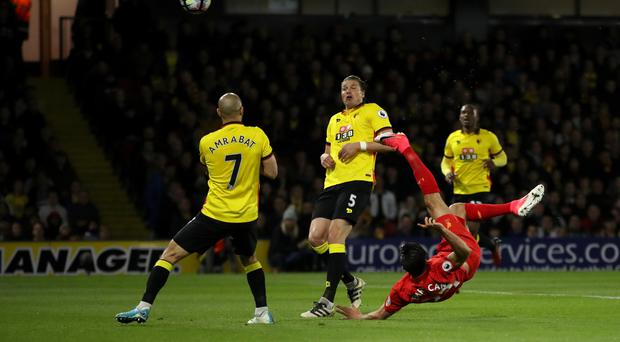 Emre Can scored a spectacular winner for Liverpool at Vicarage Road