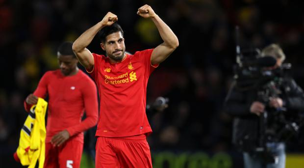 Emre Can was Liverpool's matchwinner at Watford