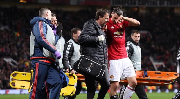 Zlatan Ibrahimovic hopes to make a successful return from a knee operation
