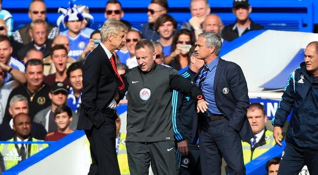 Jose Mourinho has had the better of Arsene Wenger in their meetings to date