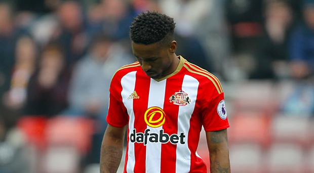 Sunderland's Jermain Defoe was relegated with the Black Cats last weekend.
