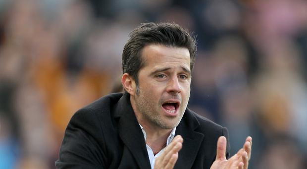 Marco Silva's Hull will look to pull clear of relegation rivals Swansea this weekend