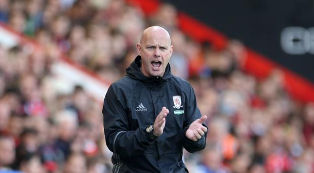 Steve Agnew is enjoying his spell as Middlesbrough's interim head coach