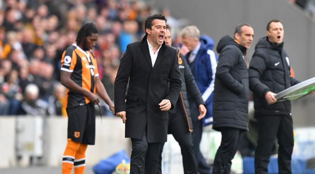 Hull manager Marco Silva is not panicking just yet