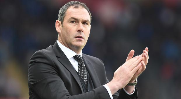 Paul Clement praised the atmosphere at the Liberty Stadium