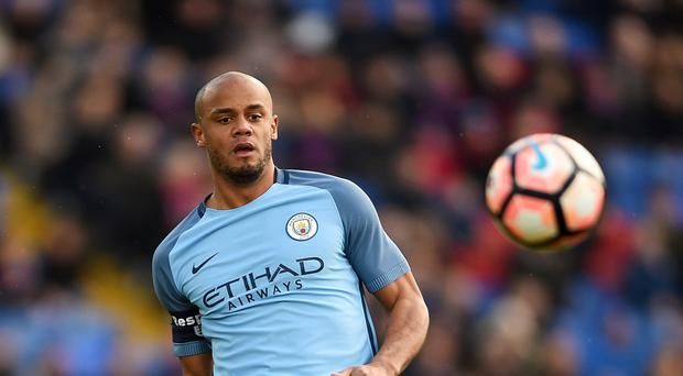 Vincent Kompany thought Manchester City were impressive against Crystal Palace