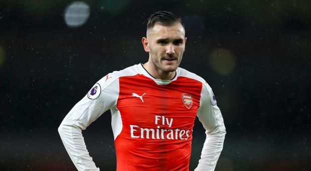 Lucas Perez has been a peripheral figure for Arsenal