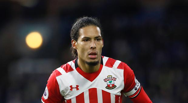 Virgil van Dijk has been linked with a move away from Southampton