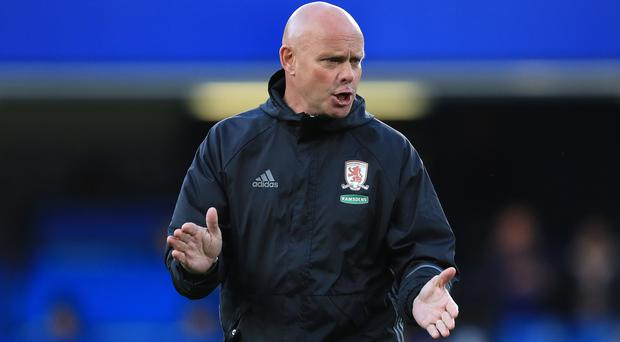 Steve Agnew took over at Middlesbrough in March