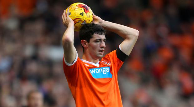 Brian Lenihan had a loan spell at Blackpool during the 2014/15 season