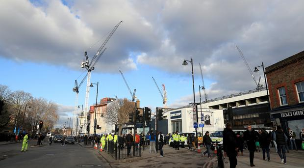 Work is well under way on Tottenham's new stadium