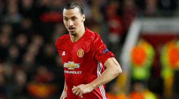 Zlatan Ibrahimovic had his season ended by a serious knee injury