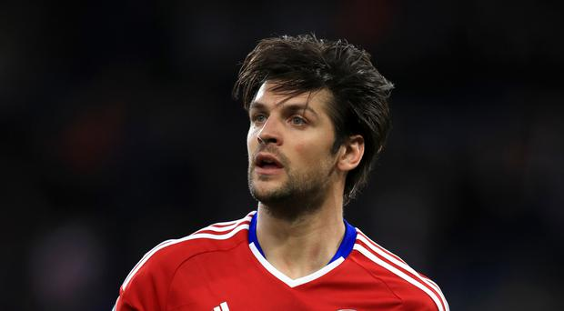 Defender George Friend (pictured) is coming to terms with Middlesbrough's relegation from the Premier League