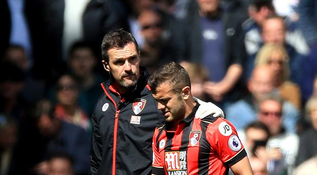 Bournemouth manager Eddie Howe believes it is unlikely Jack Wilshere will return to the club again next season