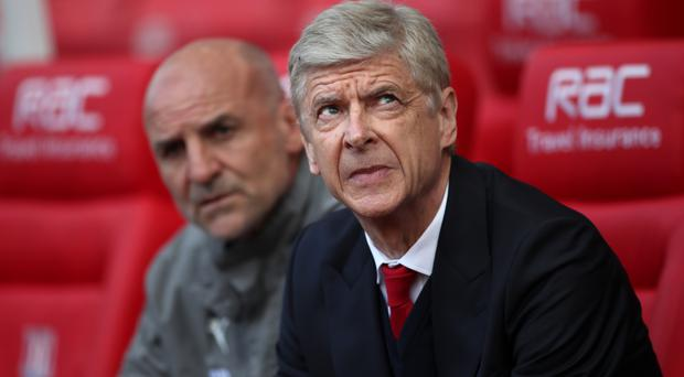 Arsene Wenger has got his eye on fourth spot