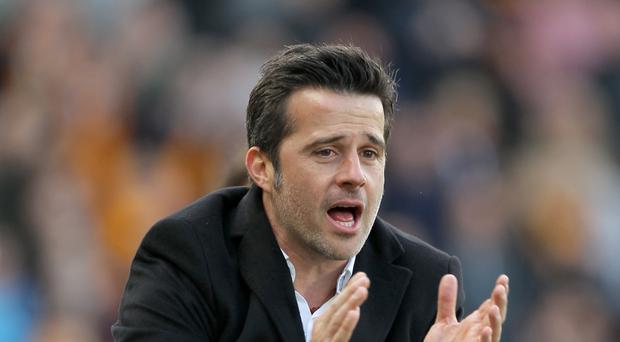 Marco Silva's contract at Hull expires at the end of the season