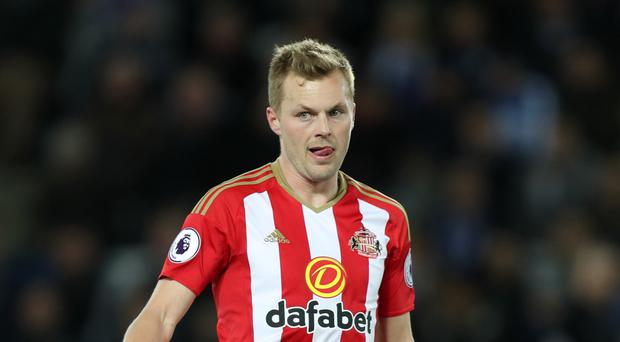 Sebastian Larsson, pictured, is not hiding from the criticism coming relegated Sunderland's way