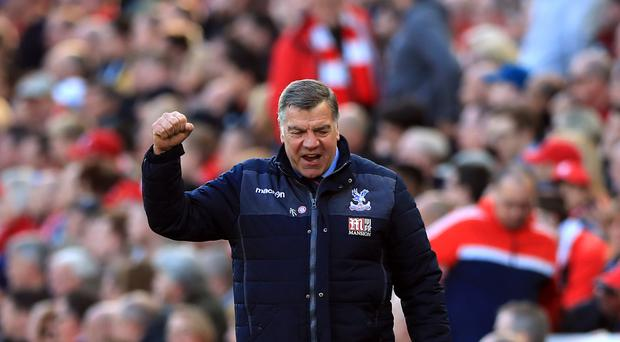 Crystal Palace manager Sam Allardyce has guided the south London club to Premier League survival